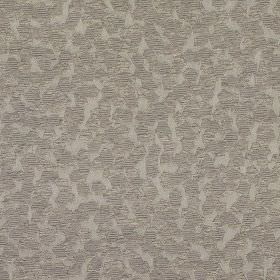 Versailles - Truffle - Polyester and polyacrylic blend fabric made in light shades of grey, scattered with a design of small pentagons