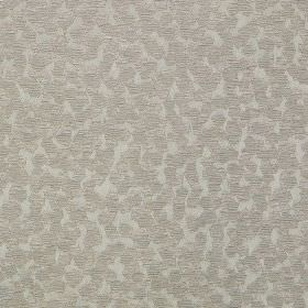 Versailles - Stone - Fabric made from polyester and polyacrylic, scattered with a design of small solid & striped pentagons in shades of gre