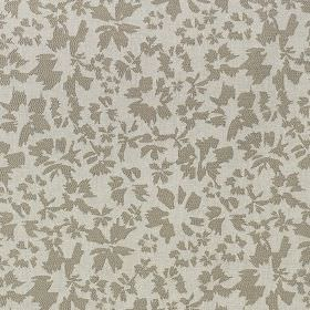 Harlow - Linen - A simple, stylised petal design scattered over polyester and cotton blend fabric made in two different shades of grey
