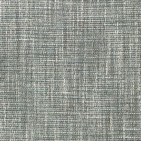 Chatsworth - Powder Blue - Fabric woven from a blend of different materials using threads in white and several dark shades of grey