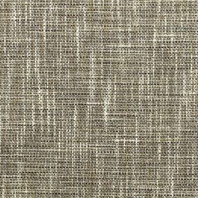 Chatsworth - Hessian - Several materials woven together into a fabric finished with a streaky white, charcoal and grey effect