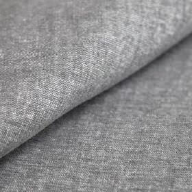 Obama - Gris - Concrete grey and white coloured threads woven together into a slightly speckled linen and cotton blend fabric