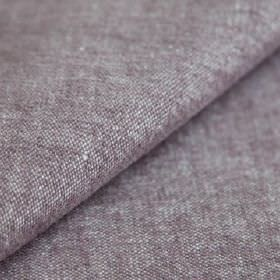Obama - Lavanda - Fabric made from linen and cotton, woven with purple-grey and white threads to create a slightly speckled finish