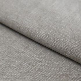 Obama - Piedra - Fabric made from a blend of linen and cotton in a light grey colour