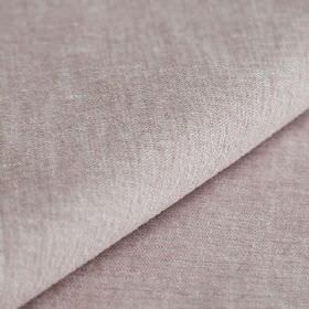 Obama - Rosa - Linen and cotton blended together into a plain fabric in a colour that's mixed from very pale shades of pink and grey