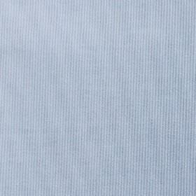 Pique Chambray - Blue-White - Two similar shades of light blue making up a very thin, subtle vertical line pattern on cotton and polyester ble