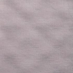 Theo - Pink - Light lilac coloured fabric blended from a combination of cotton and linen