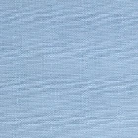 Theo - Blue - Light sky blue coloured cotton and linen blend fabric