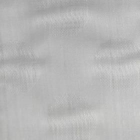 Tomahawk - White - White bridal fabric made with a subtle sheen from a muxture of polyester and linen