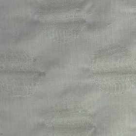 Tomahawk - Stone - Very subtle circles woven into a polyester and linen blend fabric made in a pale shade of white-grey