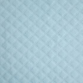 Cosima - Blue - Baby blue coloured fabric covered with a fairly large but subtle, slightly raised waffle style texture