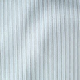 Dia - Blue - Two similar light shades of grey-blue creating a fabric's simple, narrow, evenly spaced vertical stripe design