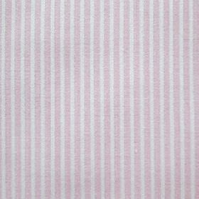 Lluvia - Rosa - Fabric patterned with a simple, regular vertical stripe design with alternating bands of pale, dusky pink and light grey
