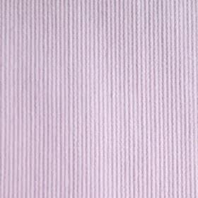 Pique Chambray - Pink - Pinstripe patterned fabric printed with a thin, regular, vertical design in purple and very light white-grey