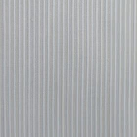 Lluvia - Grey - Two similar light shades of grey making up a thin vertical stripe pattern on fabric blended from cotton and polyester