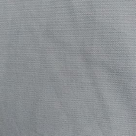 Marc - Stone - Light grey fabric made from plain 100% cotton