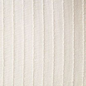 Barrington - Cream - White lines running at even intervals in a slightly raised design on off-white coloured fabric
