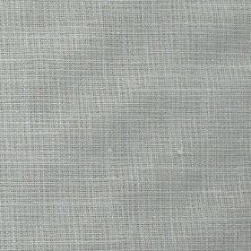 Nieve - Natural-Beige - Polyester and linen blended together into a plain steel grey colour fabric