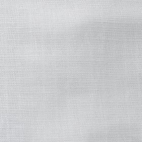 Nieve - White - Fabric made from a combination of polyester and cotton in a very pale icy grey colour