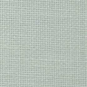 Nieve - Natural - Polyester and linen blend fabric woven from snow white coloured threads