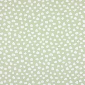 Dita - Linen - Pale grey and white fabric made from 100% cotton, with a pattern of small random shapes