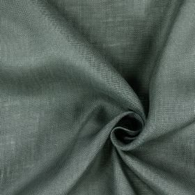Alaska - Shark - Unevely coloured fabric made from 100% linen in fairly dark shades of grey