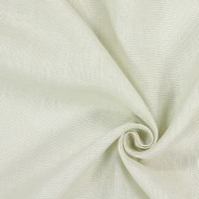 Alaska - Limestone - 100% linen fabric with patchy light grey and white colouring