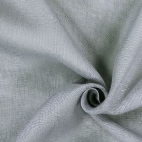 Alaska - Clover - Lilac coloured fabric made from 100% linen with a patchy, uneven finish