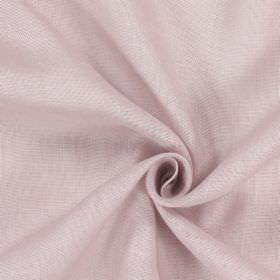 Alaska - Petal - Fabric made from patchily coloured 100% linen in light pink-purple
