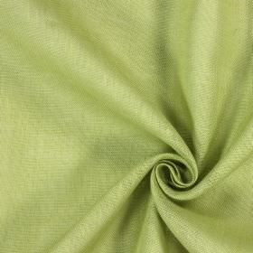 Alaska - Moss - Pale green-yellow and white colouring which is mottled and patchy on fabric made from 100% linen