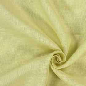 Alaska - Sunshine - Patchy white and honey colouring on 100% linen fabric