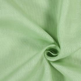 Alaska - Jade - 100% linen fabric with patchy, uneven colouring in white and a very pale shade of green-grey