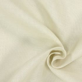 Alaska - Nougat - Beige and white patchily coloured 100% linen fabric