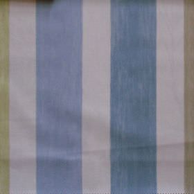 Villa Mosa - Cameo - Cameo blue striped fabric