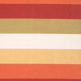 Love - Antique - Antique orange and red striped fabric