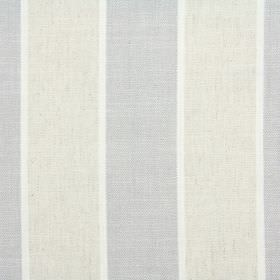 Celeste - Dove - Beige, grey and white striped fabric made from a combination of cotton, linen, viscose and polyester