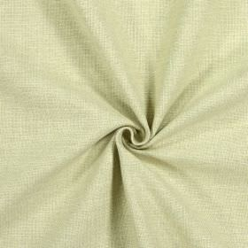 Emilia - Avocado - Plain golden cream coloured fabric which is made from a mixture of cotton, viscose, linen and polyester