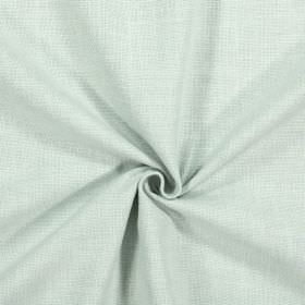 Emilia - Spearmint - Plain fabric made from cotton, linen, viscose and polyester in a pale shade of green