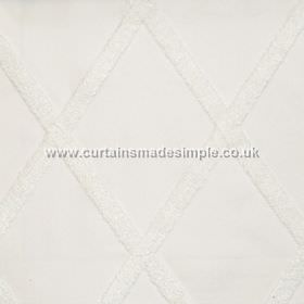 Stellar - Oyster - Cross-hatched oyster white fabric
