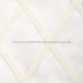 Gravity - Oyster - Cross-hatched oyster white fabric
