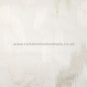 Ozone - Oyster - Oyster white fabric with modern stiched design