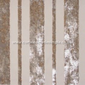 Sky - Parchment - Parchment grey striped fabric