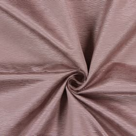 Bamboo - Clover - Cotton fabric in light pink-grey, with horizontal ridges of different lengths and widths