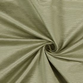 Bamboo - Parchment - Warm cream coloured cotton fabric covered in small ridges which run horizontally