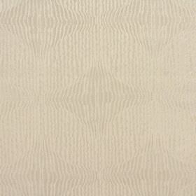Jessamine - Burnished - Random vertical stripes in two very similar warm cream shades covering fabric blended from polyester and cotton