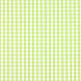 Siam - Lime - Apple green and white gingham print 100% cotton fabric