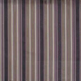 Nador - Amethyst - Amethyst purple and black striped fabric