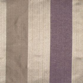 Zagora - Amethyst - Amethyst purple and gold striped fabric