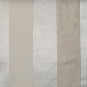 Zagora - Oyster - Oyster white and gold striped fabric