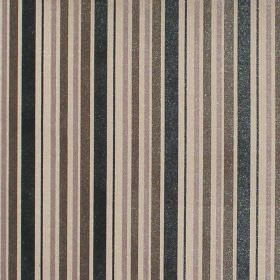Nador - Ash - Ash brown and black striped fabric